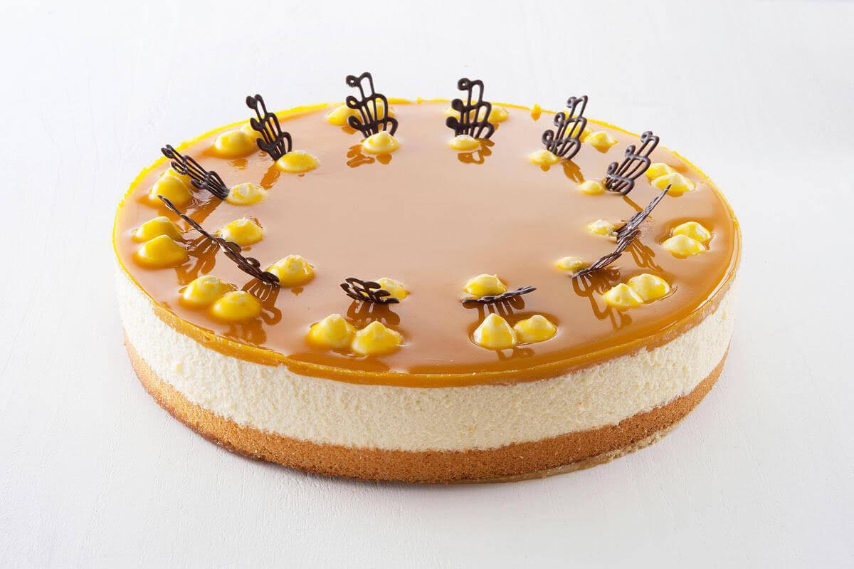 Marzipanmousse Mango Torte Kuchen Macht Glucklich Online