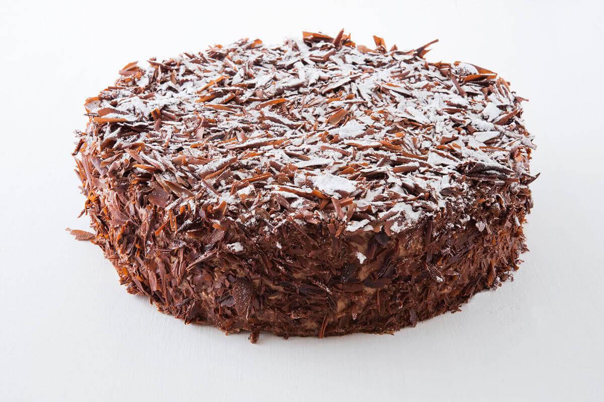 Schoko Vanille Torte Kuchen Macht Glücklich Online Kuchenservice