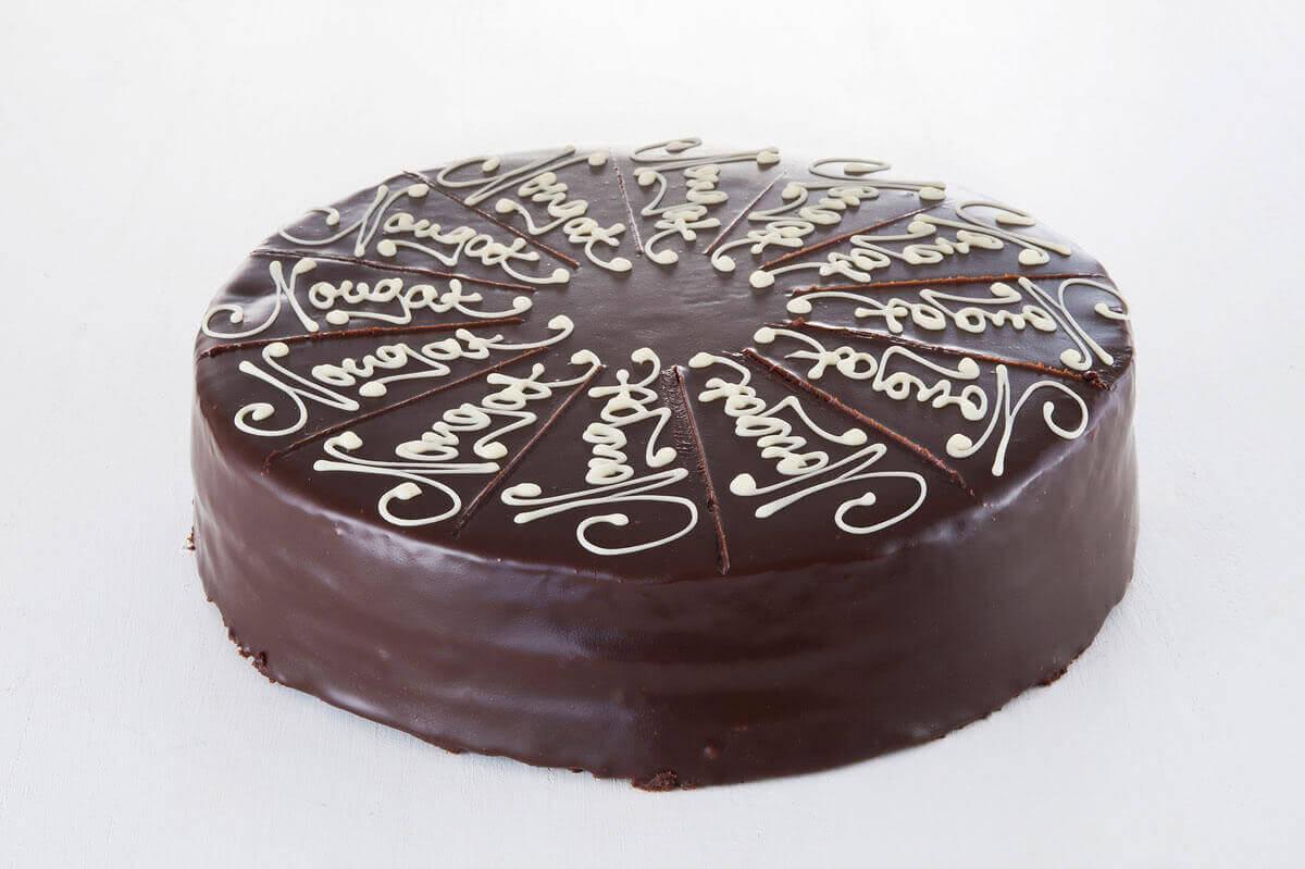 Schoko Vanille Torte Kuchen Macht Glucklich Online Kuchenservice