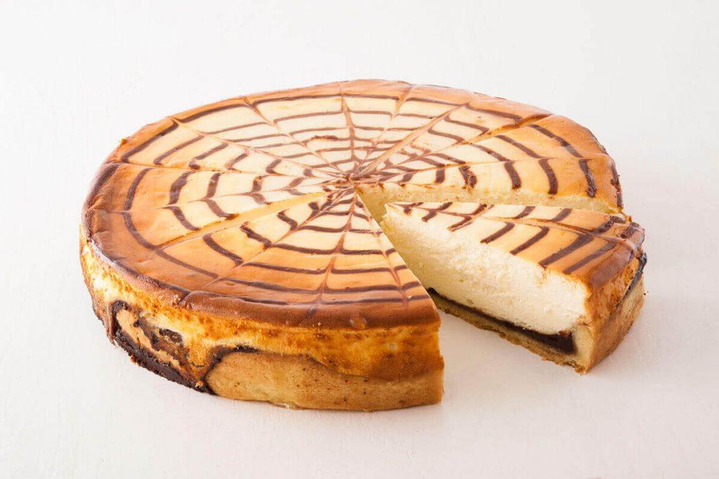 Käse-Schokokuchen »Kiez« (Anschnitt)