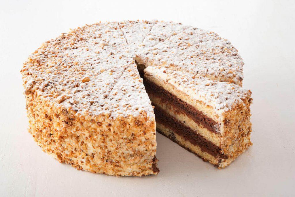 San-Francisco Cheesecake Torte (Anschnitt)