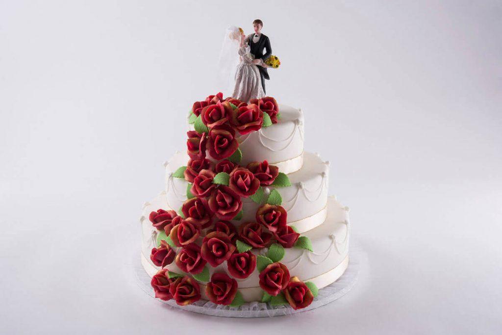 Hochzeitstorte Dornröschen