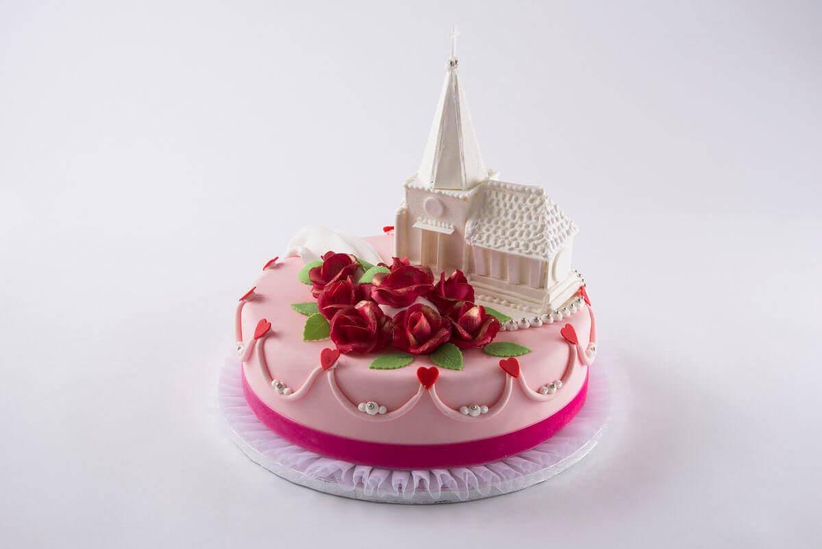 Hochzeitstorte Romantik Kuchen Macht Glucklich Online