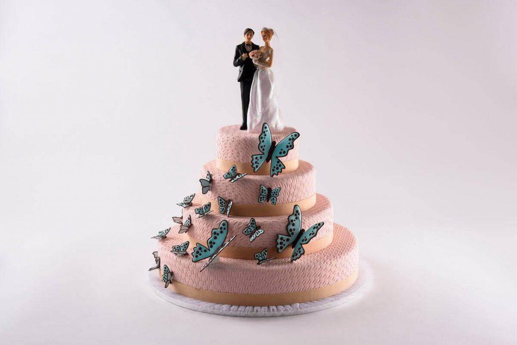 Hochzeitstorte Papillon
