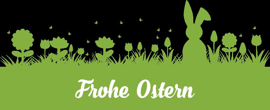Osterpanorama (Dunkelgrün)